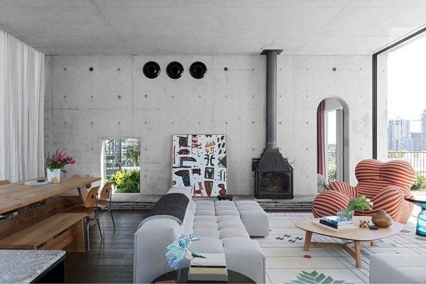 Cheminees Radiante 700 3V - SJB Interiors, Photographer: Felix Forest