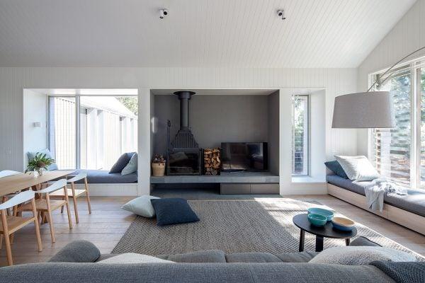 Cheminees Philippe Radiante 873 - Metung House, Architecture: HR Neil, Photographer: HIlary Bradford