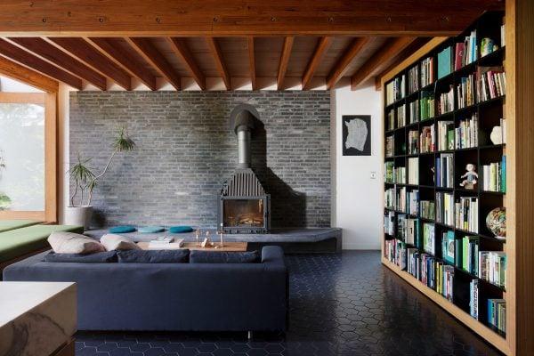 Cheminees Philippe Radiante 700 - BKK Architects, Photographer: Shannon McGrath