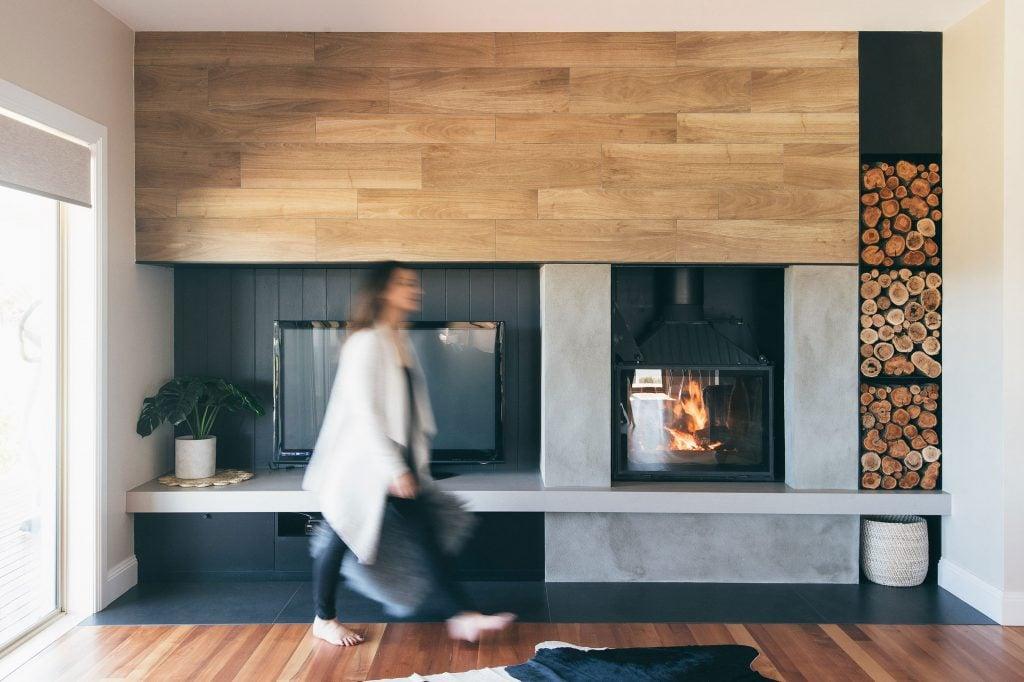 Lydia Maskiell Interior Designer Australian Fireplace