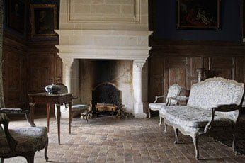 Country French Fireplace